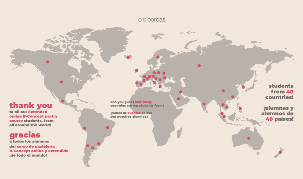 mapa 40 países curso online y extendido