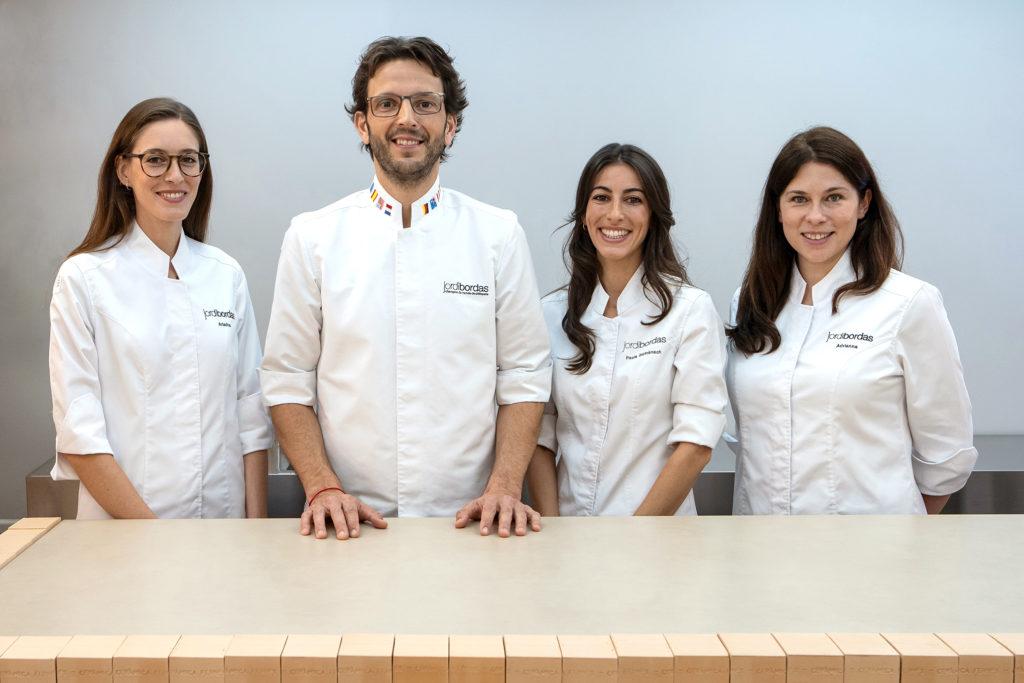 Equipo formativo del Curso de Pastelería B·Concept online y extendido